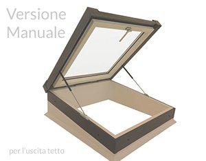 Finestra Flat Manuale Uscita Tetto
