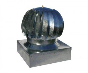 aspiratore eolico zincato