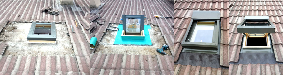 Sostituzione finestra da tetto